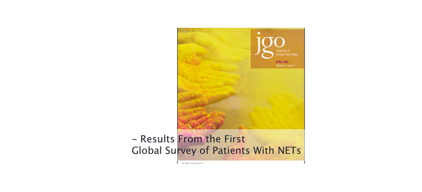 First Global Neuroendocrine Tumor Patient Survey Results Published in Journal of Global Oncology