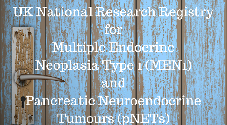 AMEND UK: First UK National Research Registry For MEN1 & Pancreatic Neuroendocrine Tumours In Sight