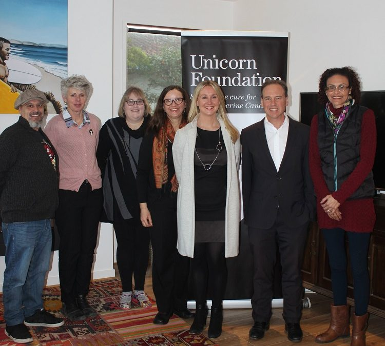 Australian Federal Health Department supports patients living with NET by a grant to Unicorn Foundation