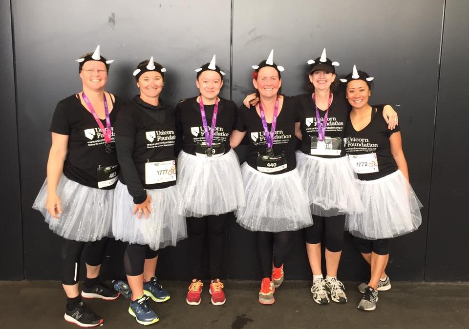 Skechers Womens 6k+12k: Dressing up running for raising awareness on NETS