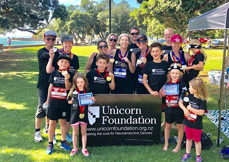 Unicorn Foundation New Zealand Fundraising Waterfront Half Marathon
