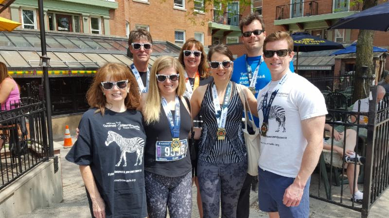 Team Zebra Ottawa Raises $13,000 for NET Cancer Research