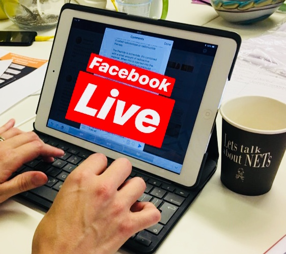 NET Patient Foundation Launches Facebook Live Program
