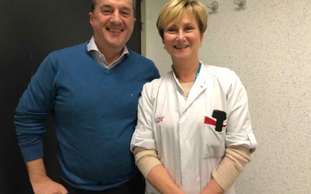 First NET Specialist Nurse in the University Hospital of Antwerp