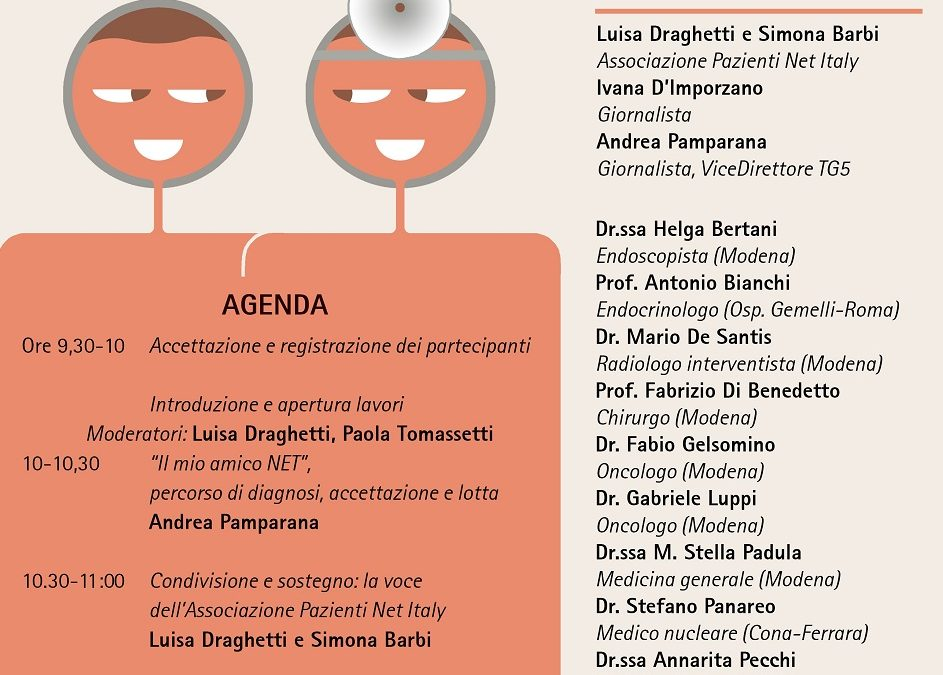 NET Italy Organizes an Open Day for NET Patients