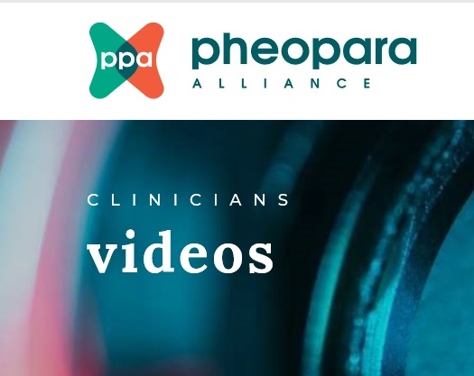 Educational Videos on Pheocromocytoma and Paraganglioma