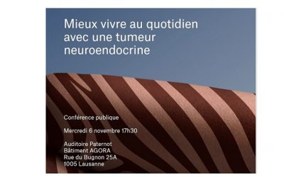 CHUV Switzerland Invites NET Patients to Share Knowledge on November 6th.
