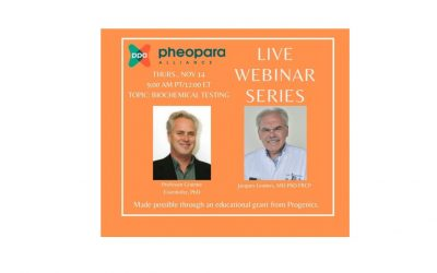 Pheo Para Experts Host Webinar About Biochemical Testing for Diagnosis of Pheochromocytoma