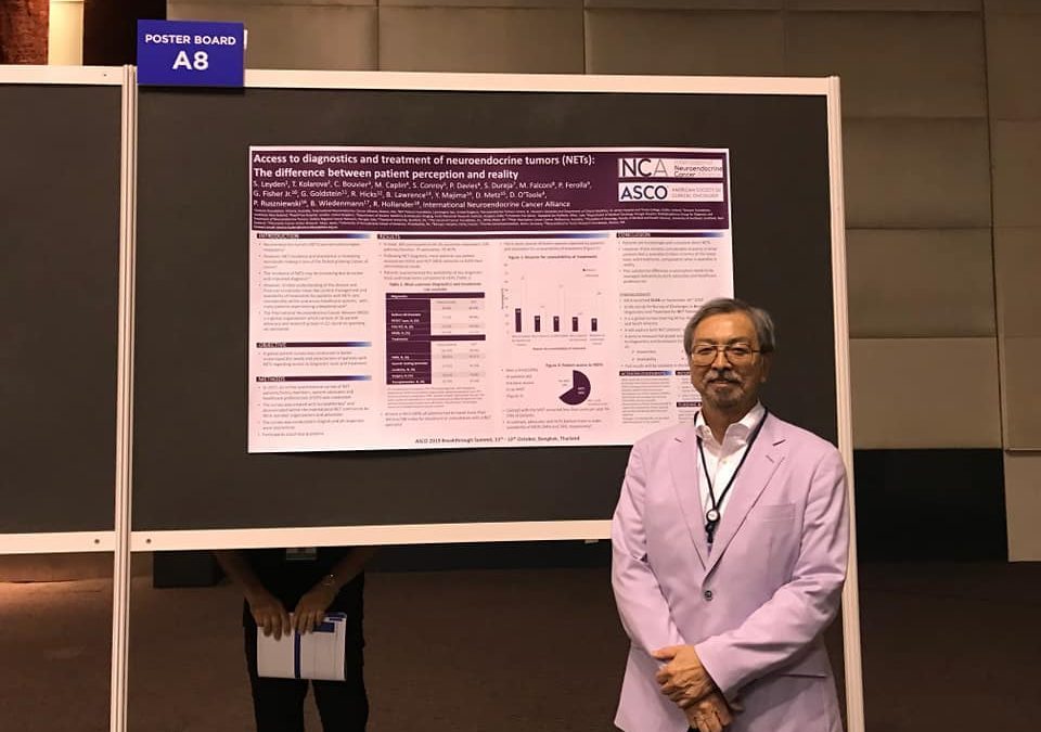 INCA Poster on Unmet Needs in Access to NET Diagnostics and Treatment at 2019 ASCO Global Summit for Oncology Innovators in Bangkok