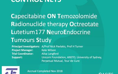 First Results for Control NETs Study Funded by Unicorn Foundation to Be Presented at ASCO GI 2020