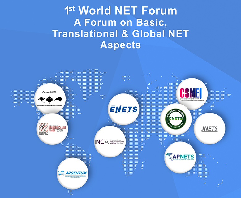 First World NET Forum 2020 on 10 – 11 March in Barcelona – Convened by ENETS in Partnership with the NET Medical Societies Around the World and INCA