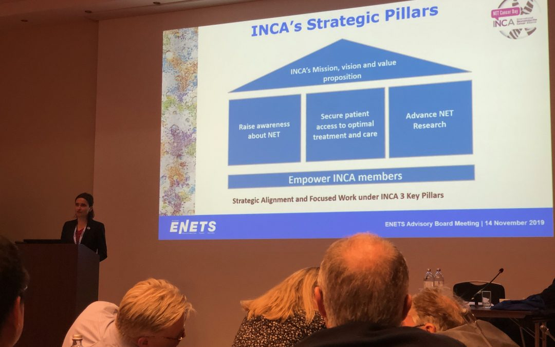 INCA Success Record 2019 Showcased at the Annual ENETS Advisory Board