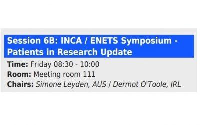 Upcoming in 2020: INCA/ENETS Symposium