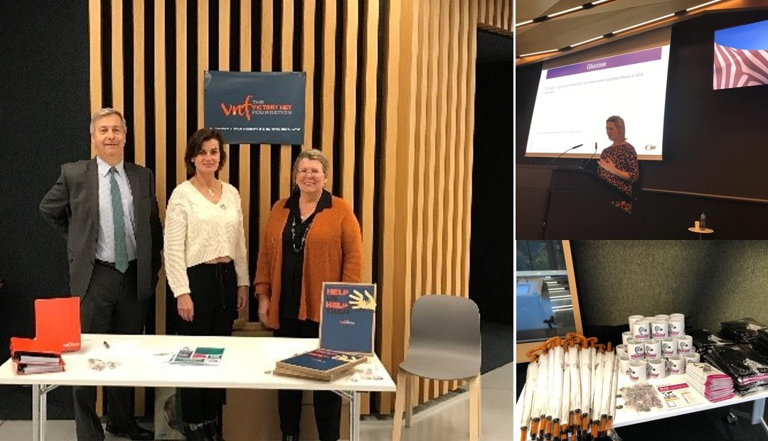 Victory NET Foundation at the NET Patient Info Day in Switzerland