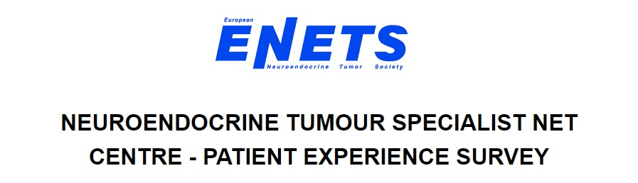 ENETS Center of Excellence Patient Experience Survey