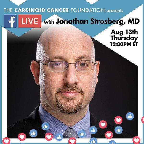 CCF's Luncheon with the Experts Facebook Live With Jonathan Strosberg