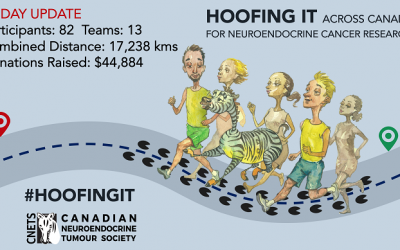 HOOFING IT Across Canada for Neuroendocrine Cancer Research!