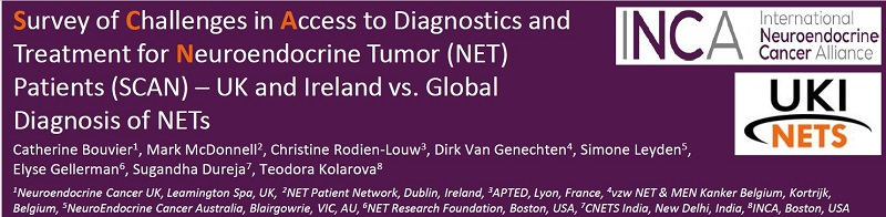 Diagnosis of NETs in Ireland and UK Showcased at the UKINETs 2020