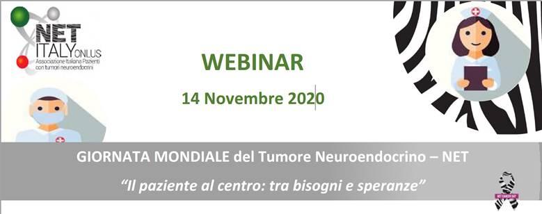 Giornata Mondiale del Tumore Neuroendocrino