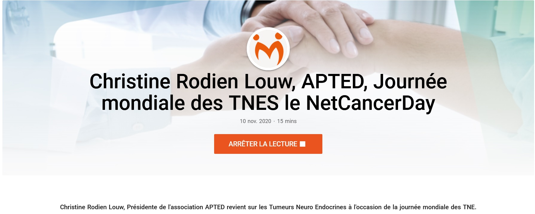 APTED France parle des TNEs / APTED France Talks About NETs
