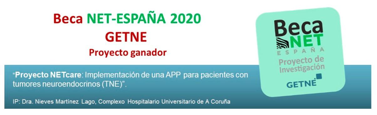 The NETcare Project Won NET España & GETNE Collaborative BECA Research Grant