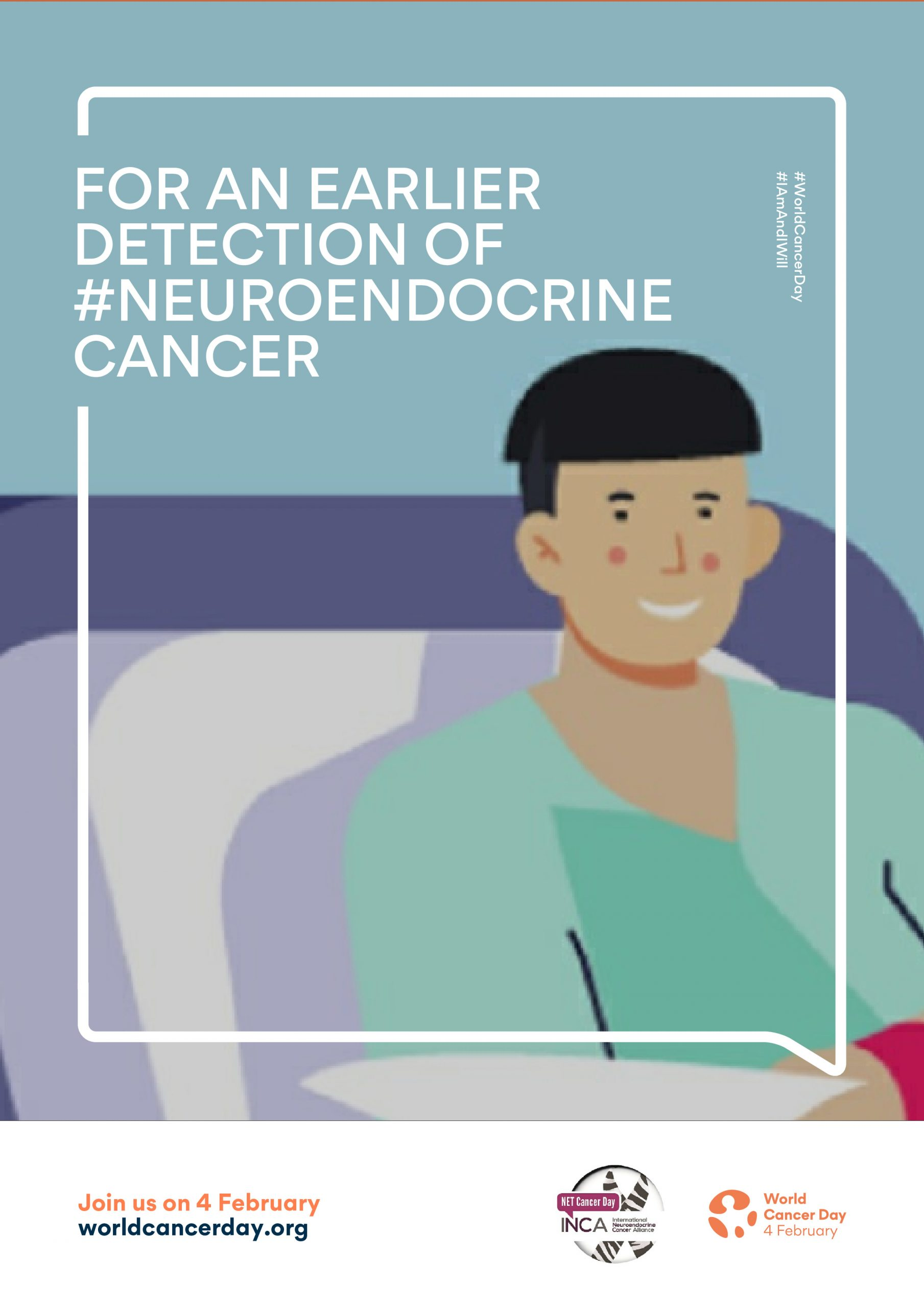 INCA Calls for Improvements in Neuroendocrine Cancer Detection on World Cancer Day