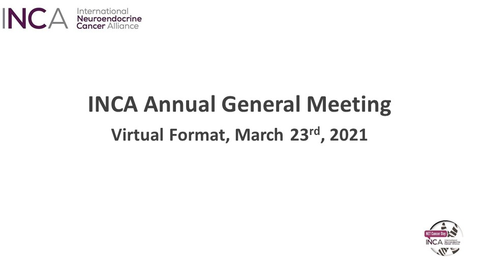 INCA 2021 Annual General Meeting Took Place Virtually