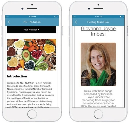 NET Cancer Health Storylines Free App from CCF