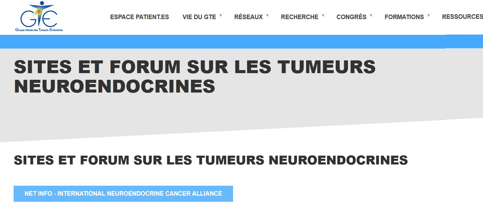 GTE France Promotes the #NETInfo Virtual Library